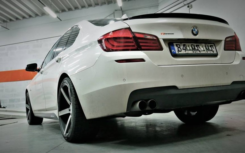 CHIPTUNING  BMW F10 550I 408KM – STAGE 3
