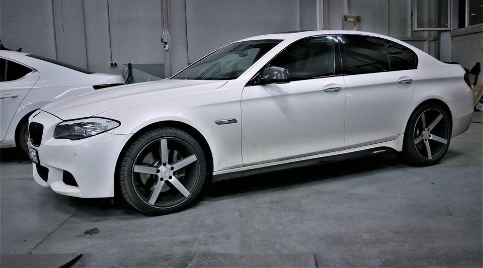 CHIPTUNING BMW F10 550I