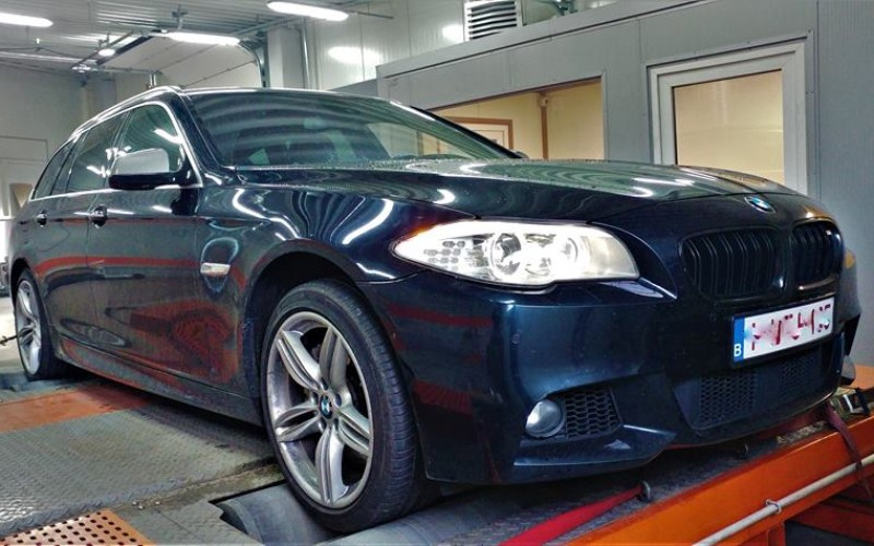 CHIPTUNING BMW F11 535D 313KM – STAGE 4