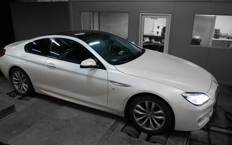 CHIPTUNING BMW F13 650i 449KM – STAGE 1