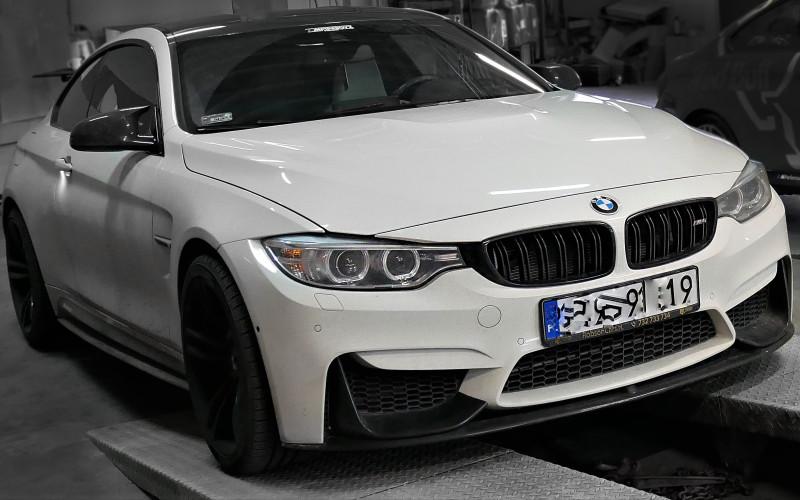 CHIP TUNING BMW M4 F82 431KM – STAGE 1 – 520KM
