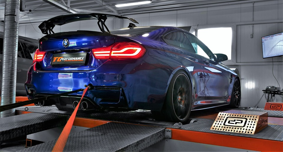 Chip Tuning BMW f82 M4 COMPETITION