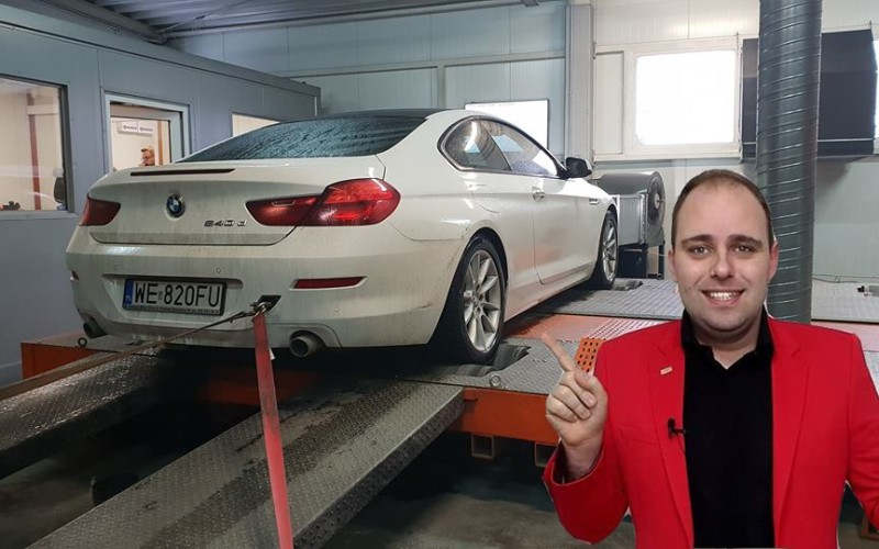 CHIPTUNING BMW F06 640D 313KM – STAGE 1