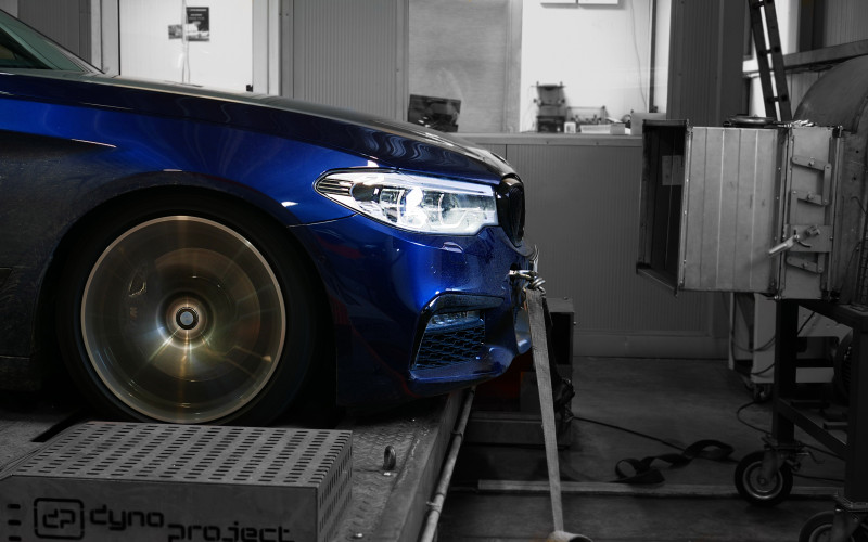 CHIPTUNING BMW G31 530i 252KM – STAGE 2