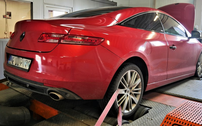 CHIPTUNING RENAULT LAGUNA GT COUPE 205KM – STAGE 3