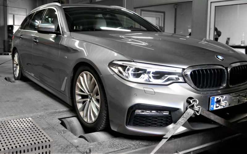 CHIPTUNING BMW G31 525d 231KM – STAGE 1