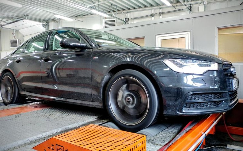 CHIPTUNING AUDI A6 3.0TFSI 310KM – STAGE 2
