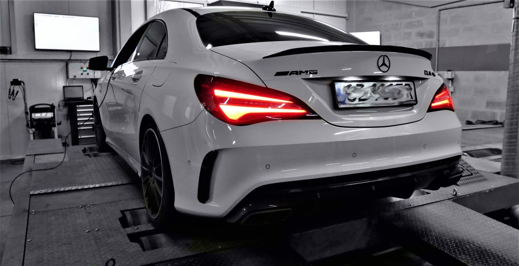 Chip tuning Mercedes CLA45 381KM - STAGE 1
