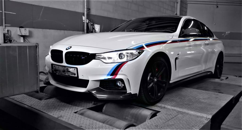 Pomiar na hamownii BMW f32 428i