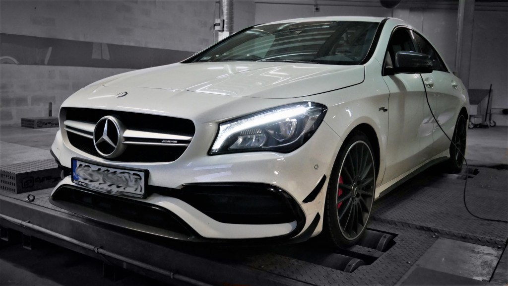 Chiptuning Mercedes Benz CLA45 381KM - STAGE 1