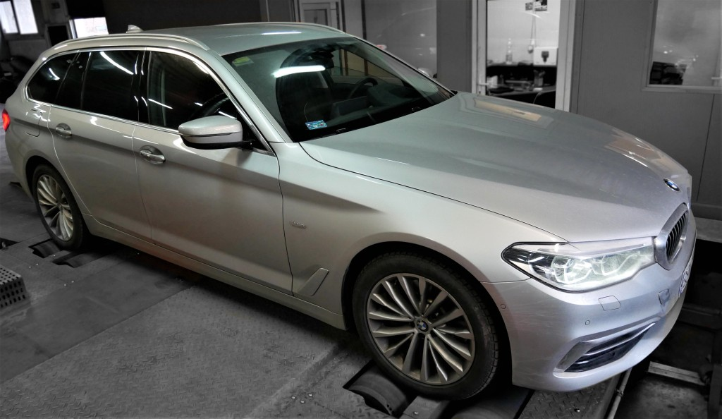 Chipt uning BMW G30 530d 265KM