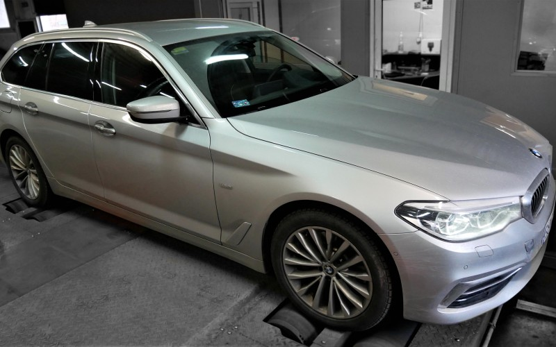 CHIPTUNING BMW G31 530d 265KM – STAGE 1