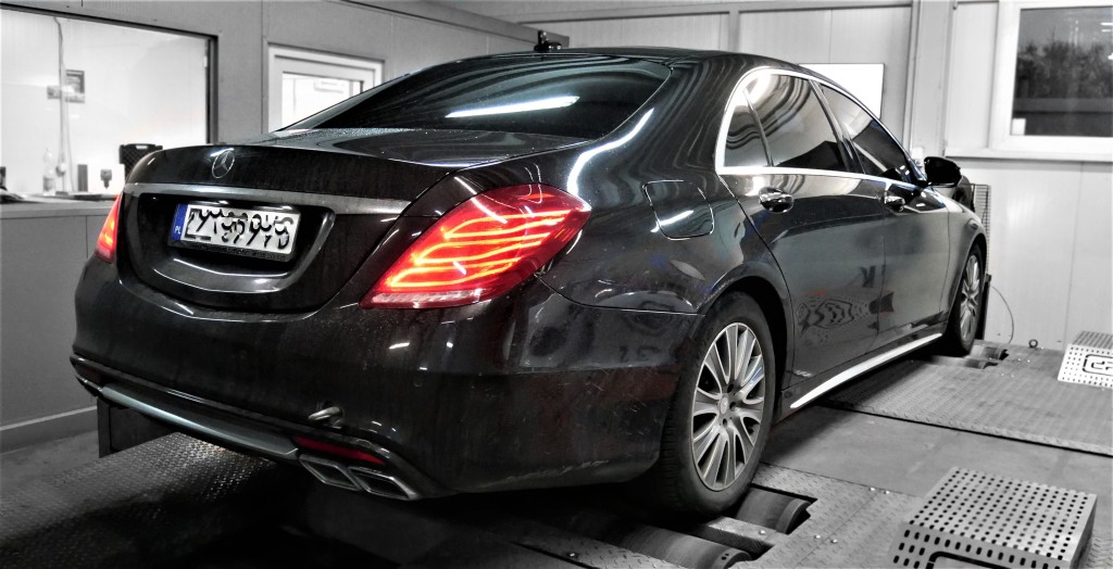CHIPTUNING MERCEDES W222 S350