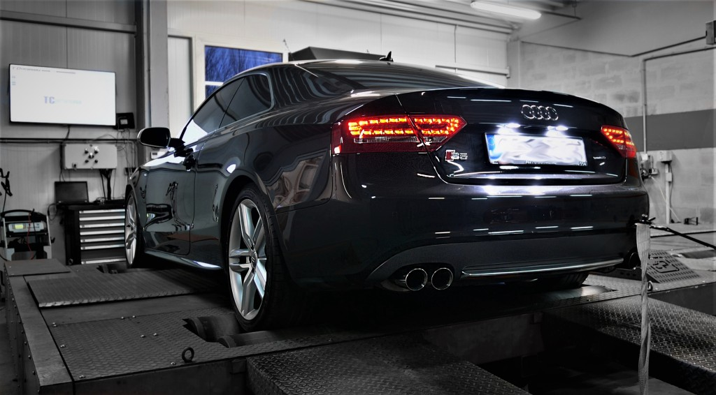 Chip Tuning Audi S5 4.2 354KM - Stage 1