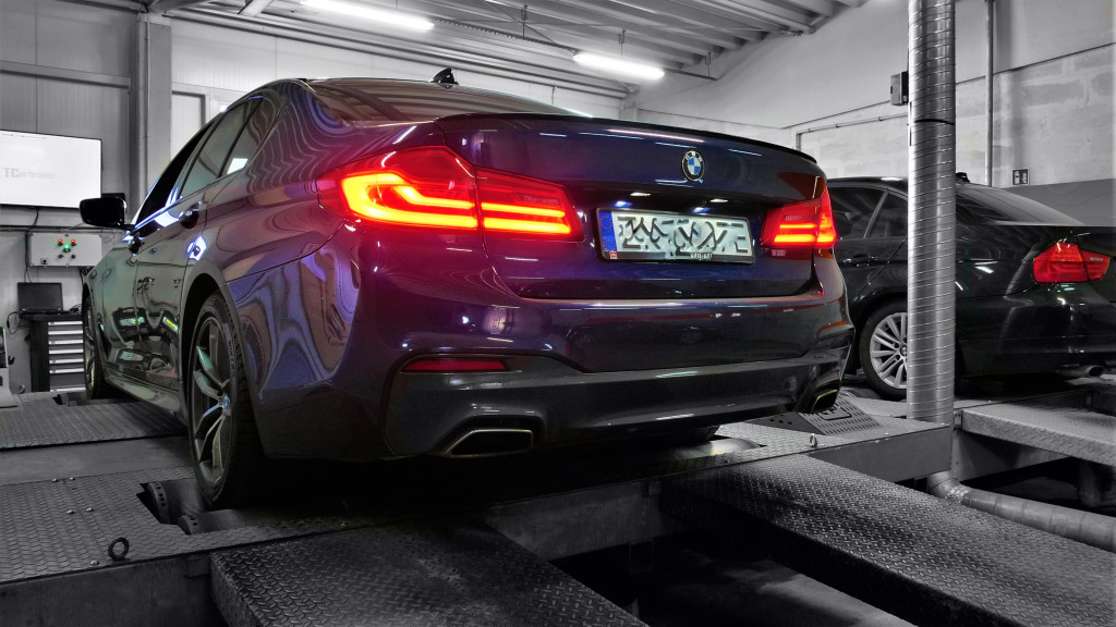 Chip Tuning BMW G30 540i 340KM
