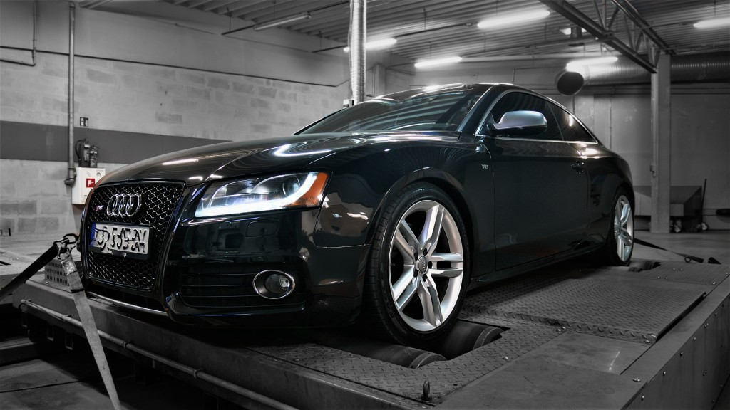 Chiptuning Audi S5 4.2 354KM - Stage 1