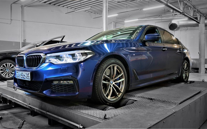 Tuning Box BMW G30 540i 340KM – STAGE 0.5