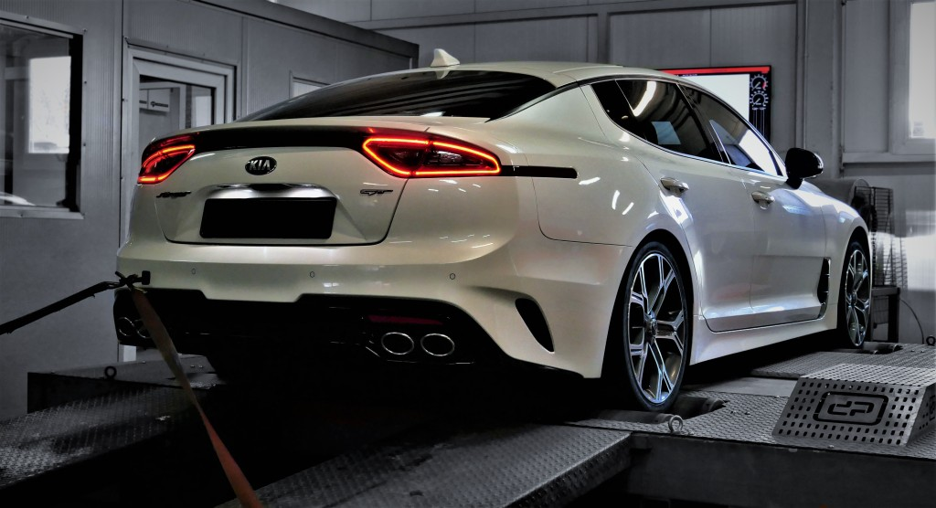 Chip tuning KIA Stinger 3.3T 370KM