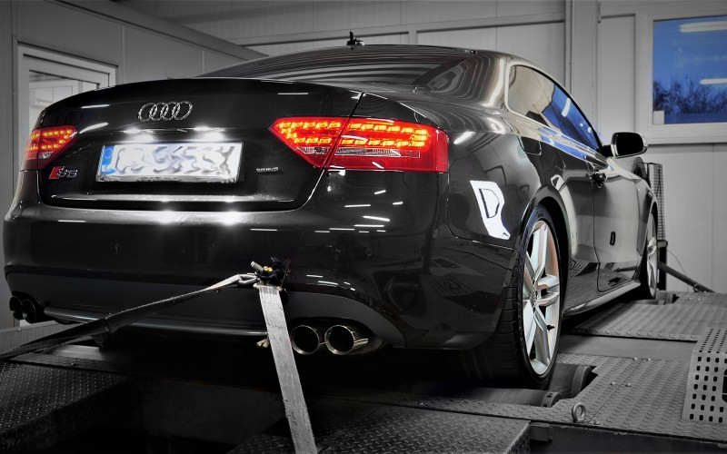 CHIPTUNING AUDI S5 B8 354KM – STAGE 1
