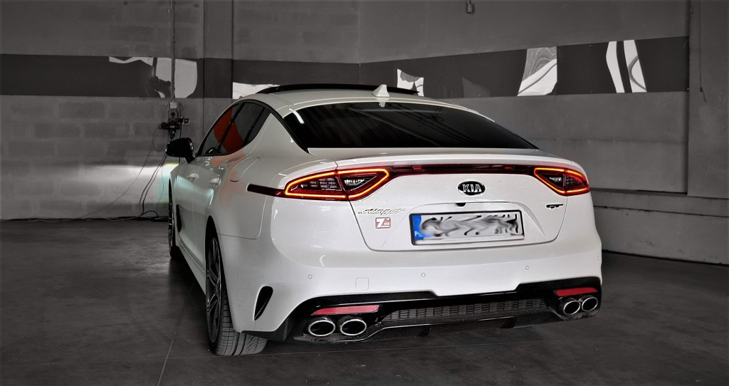 Racebox Chip KIA Stinger 3.3T 370KM