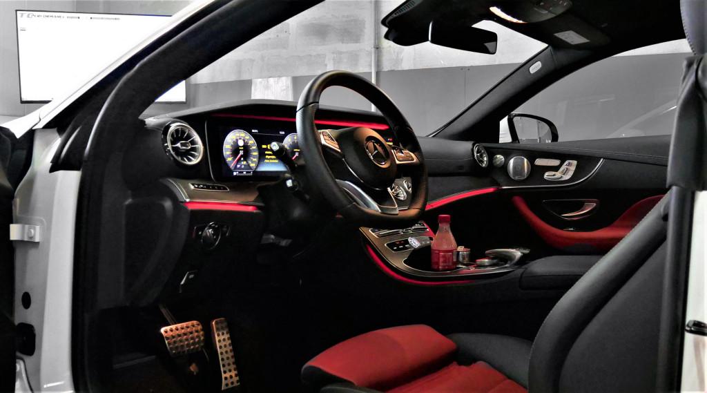 Chiptuning Mercedes E200 184KM