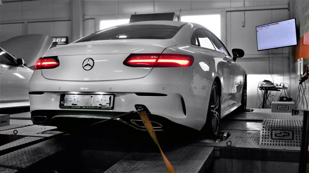 Chiptuning Mercedes Benz E200 184KM