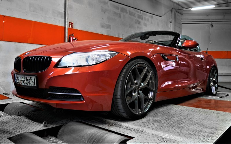 CHIPTUNING BMW Z4 E89 156KM – STAGE 1