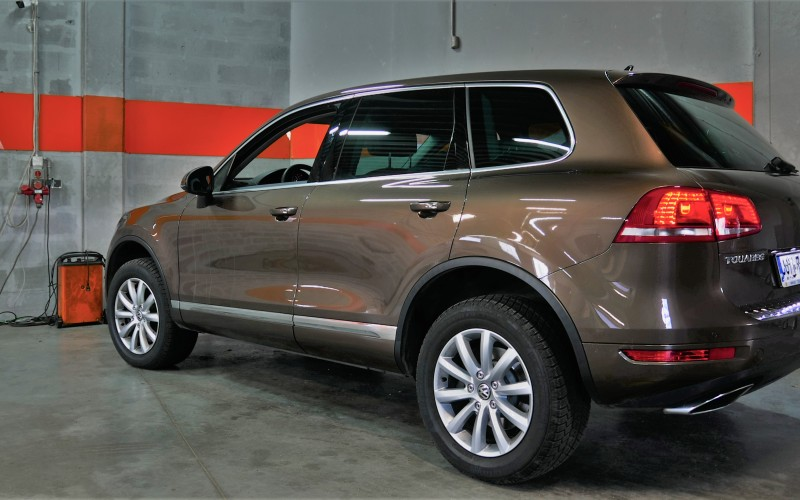 CHIPTUNING VW TOUAREG 4.2 TDI 340KM – STAGE 1