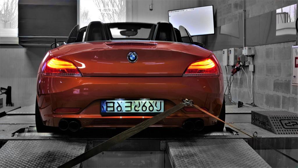 Wieksza moc BMW Z4 2.0T 184KM