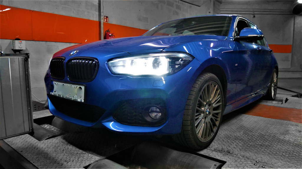 Chiptuning BMW F20 120i 184KM