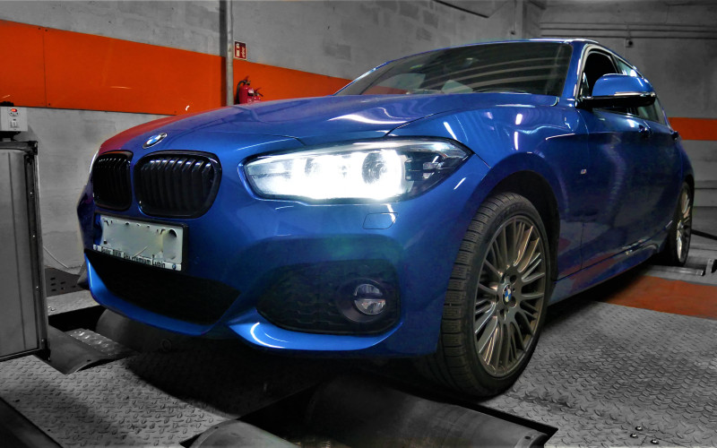 CHIPTUNING BMW F20 120i 184KM – STAGE 1