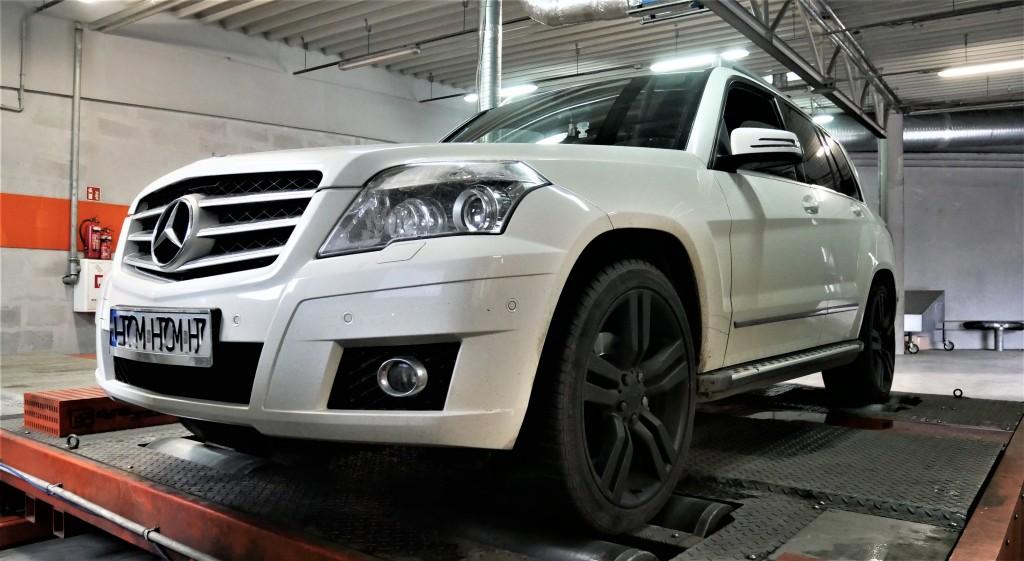 Chiptuning Mercedes Benz GLK 320CDI