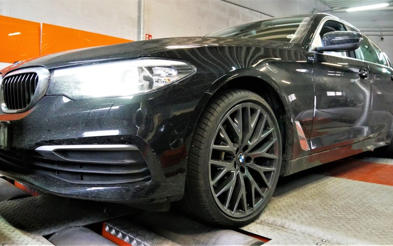 CHIPTUNING BMW G30 518d 150KM – STAGE 1