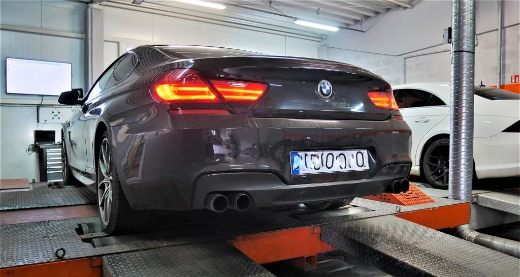 Chip Tuning BMW 650i 449KM Hamownia