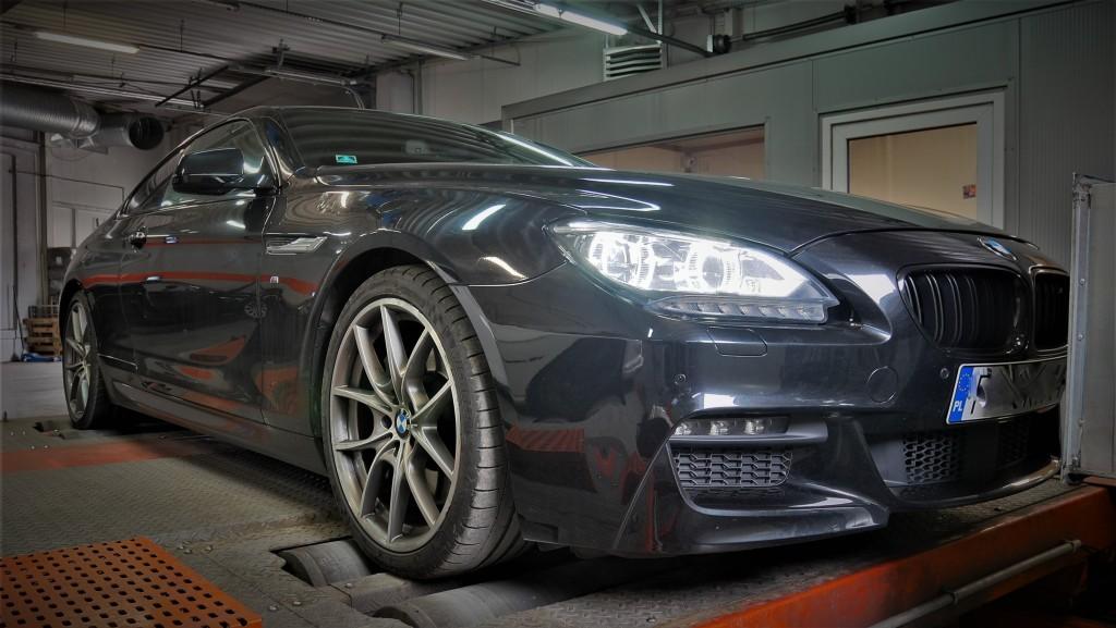 Chip Tuning BMW 650i 407KM