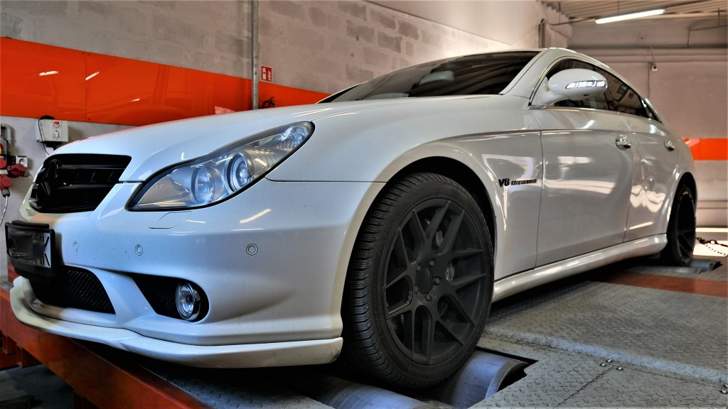 Chip Tuning Mercedes CLS 55 AMG