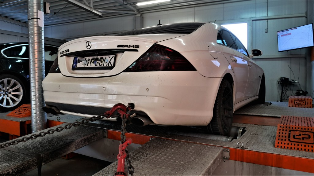 Chip Tuning Mercedes CLS55 AMG
