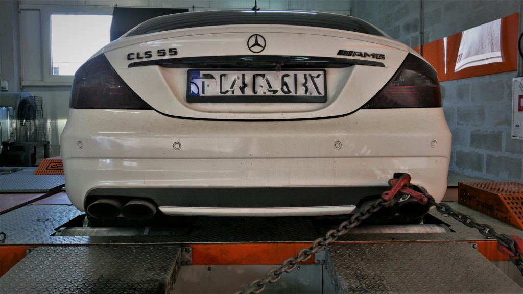 Chip Tuning Mercedes CLS55 AMG Hamownia