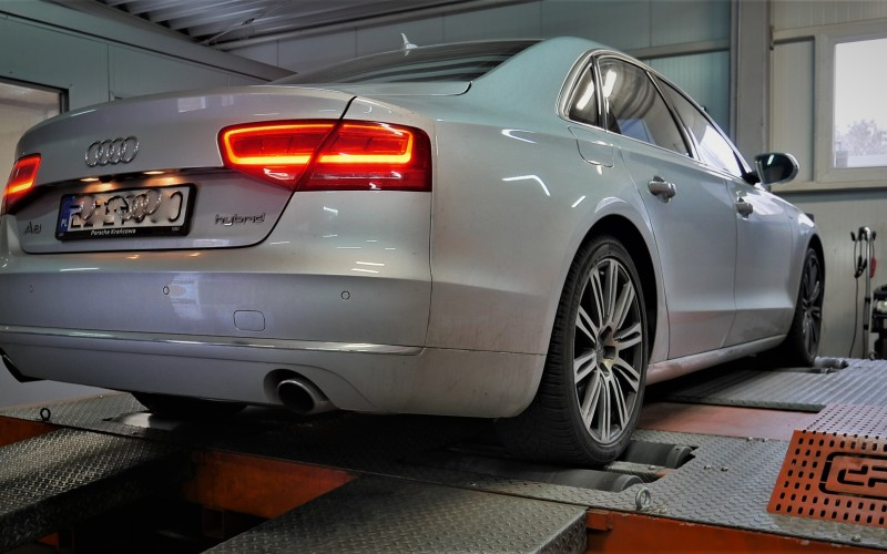 CHIPTUNING AUDI A8 HYBRID 245KM – STAGE 1