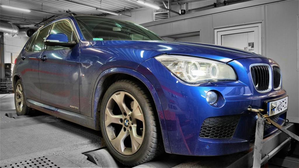 Chiptuning BMW X1 20d