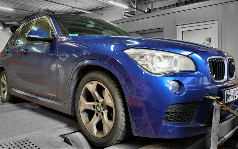 CHIP TUNING BMW X1 18d 136KM – STAGE 1