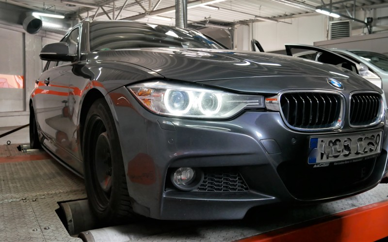 CHIP TUNING BMW F31 330d 258KM – stage 1