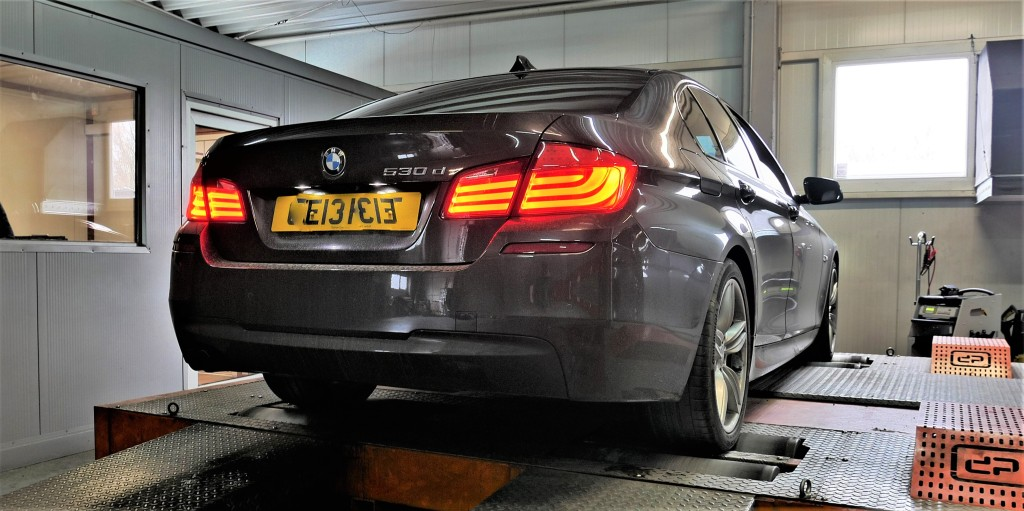 Chiptunning BMW F10 530D 258KM
