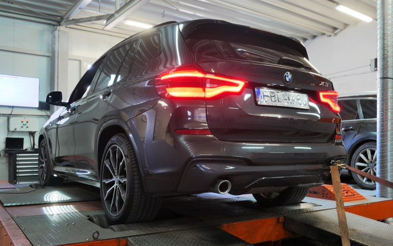 CHIP TUNING BMW G01 X3 20d 190KM – STAGE 1