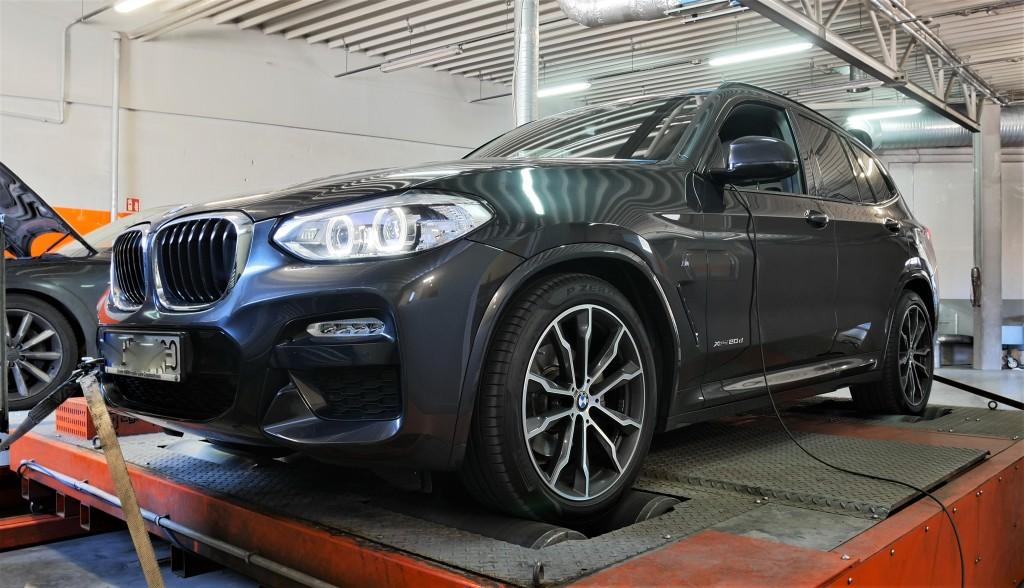 CHIP TUNING BMW X3 20d 190KM