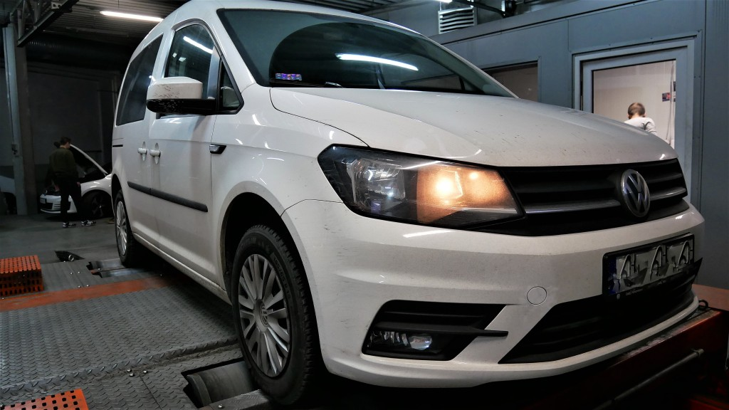 Chip tuning VW Caddy 2.0TDI 105KM