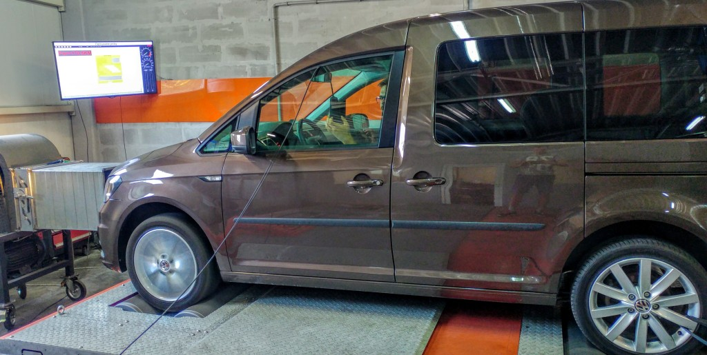 Chip tuning VW Caddy 2.0TDI 150KM