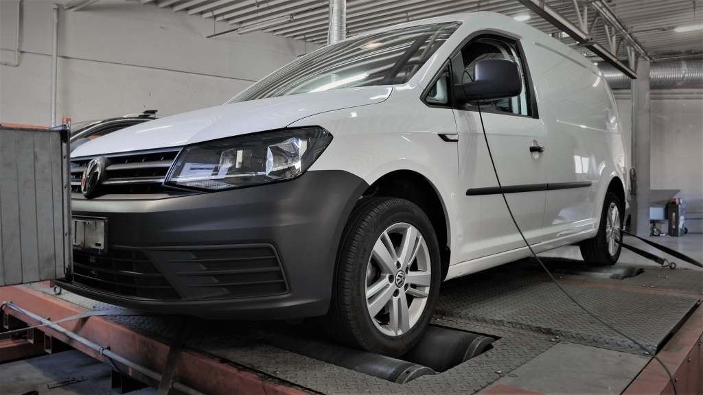 Chip tuning VW Caddy 2.0TDI 90KM
