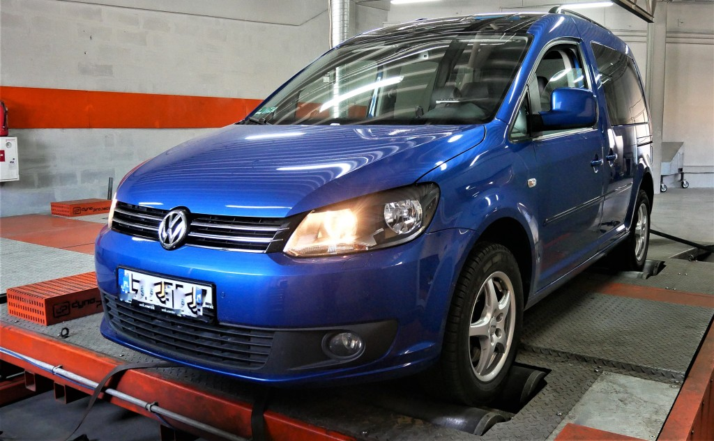 Chip tuning VW Caddy 2.0TDI CFHC 140KM