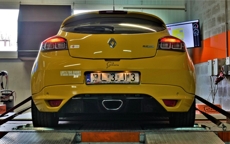 CHIPTUNING RENAULT MEGANE RS TROPHY 265KM – STAGE 2